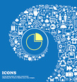 Infographic icon Nice set of beautiful icons vector image