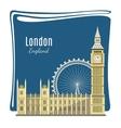 London landmarks detailed vector image