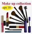 Make up set vector image