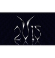 New Year 2015 Goat vector image