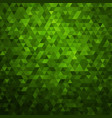 abstract green colorful background vector image