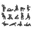 Gymnastic vector image vector image