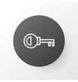 door key icon symbol premium quality isolated vector image