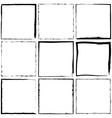 Simple Grunge Frames vector image