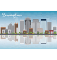 Birmingham Alabama Skyline vector image