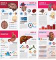 Internal Human Organ Health And Medical Chart vector image