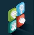 Isometric Technology design vector image