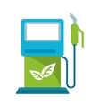 gasoline pupm station ecological vector image
