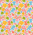 Clothes pattern in color vector image