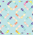 seamless background with jugs vector image