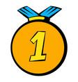 medal icon icon cartoon vector image