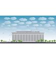 Abraham Lincoln Memorial in Washington DC vector image