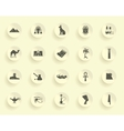 Egyptian symbols vector image