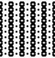 Polka dot and cross geometric seamless pattern vector image