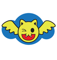 Smile Bat vector image