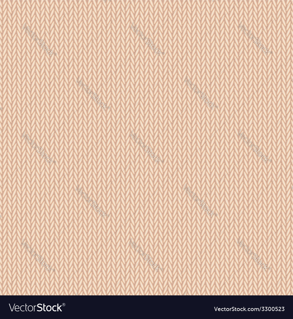 Background seamless pattern texture of beige wool vector