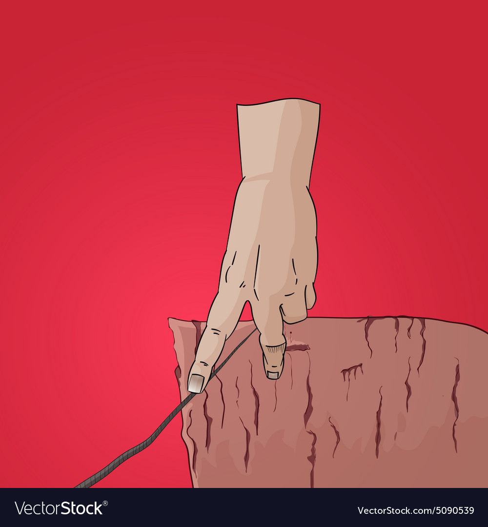 Finger walk on string cliff vector