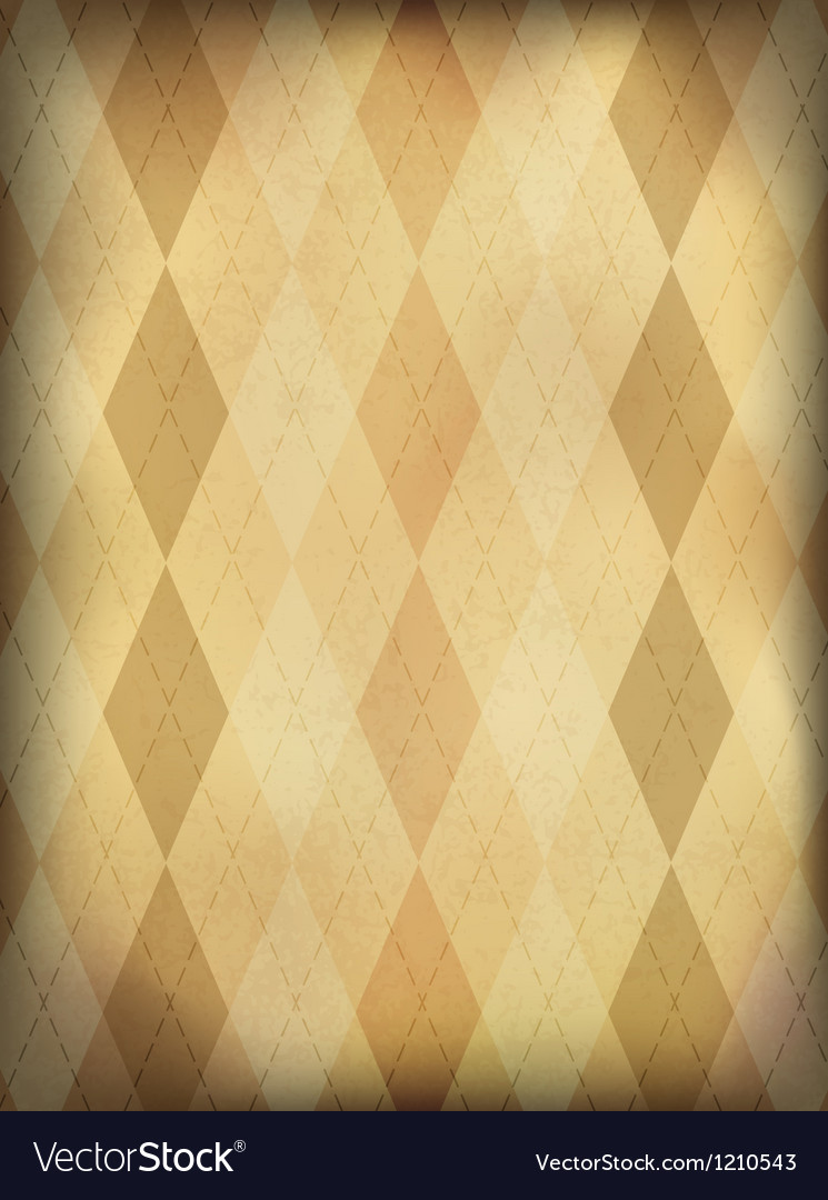 Vintage ornamented background vertical eps10 vector