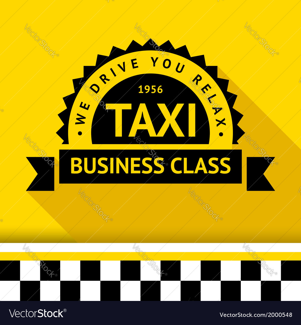 Taxi badge 09 vector
