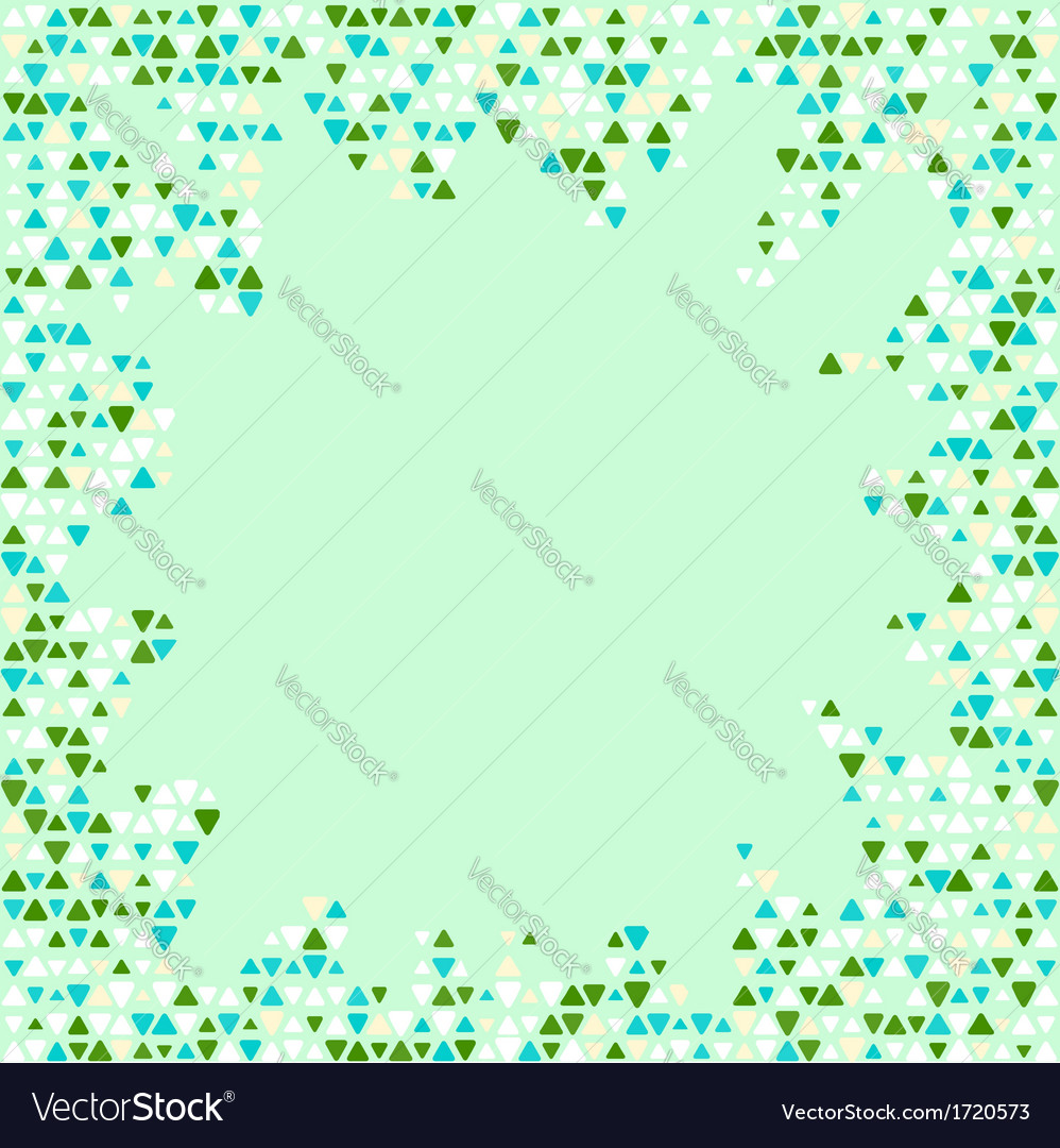 Abstract patterned background vector