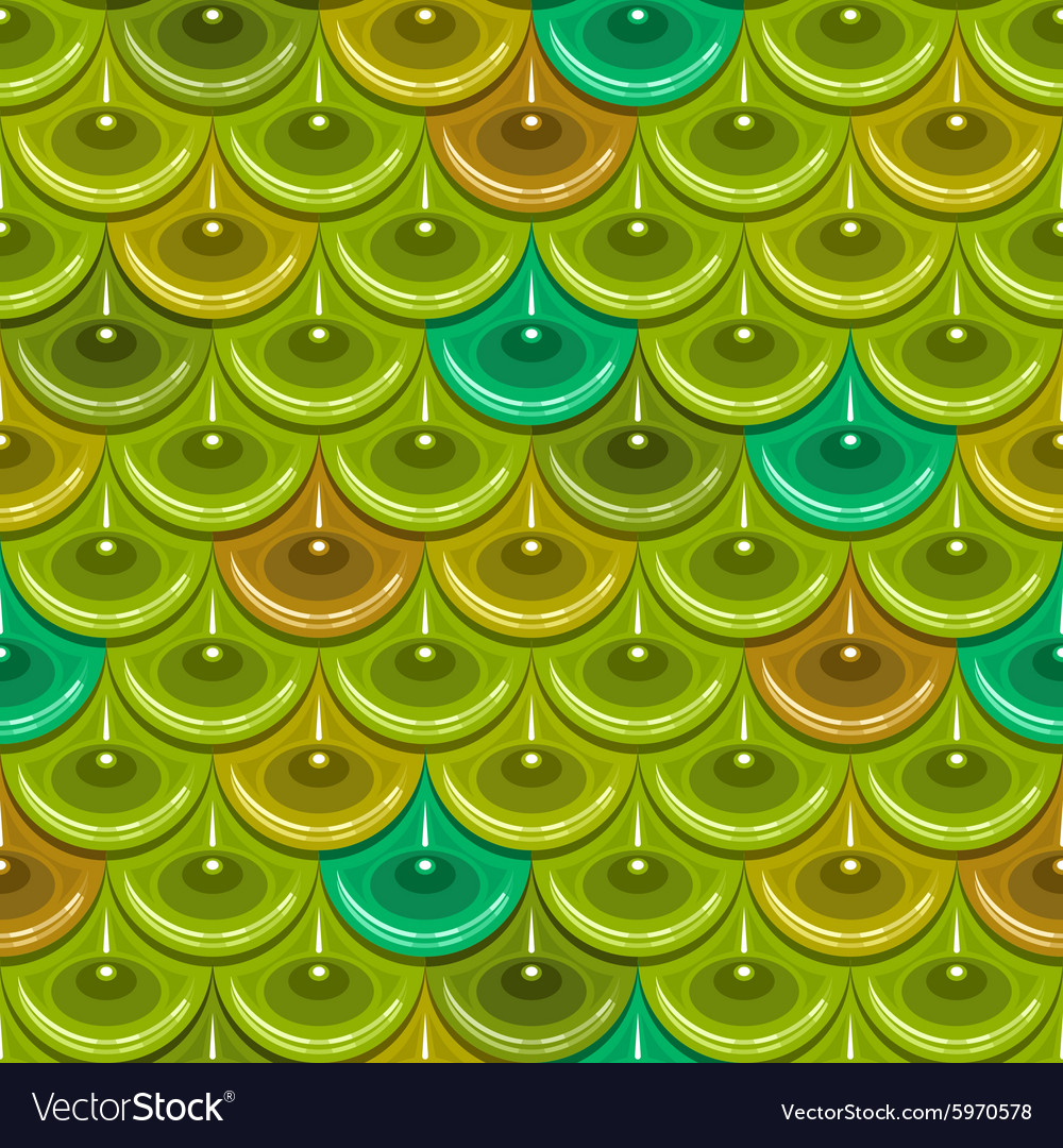 Seamless colorful river fish scales vector