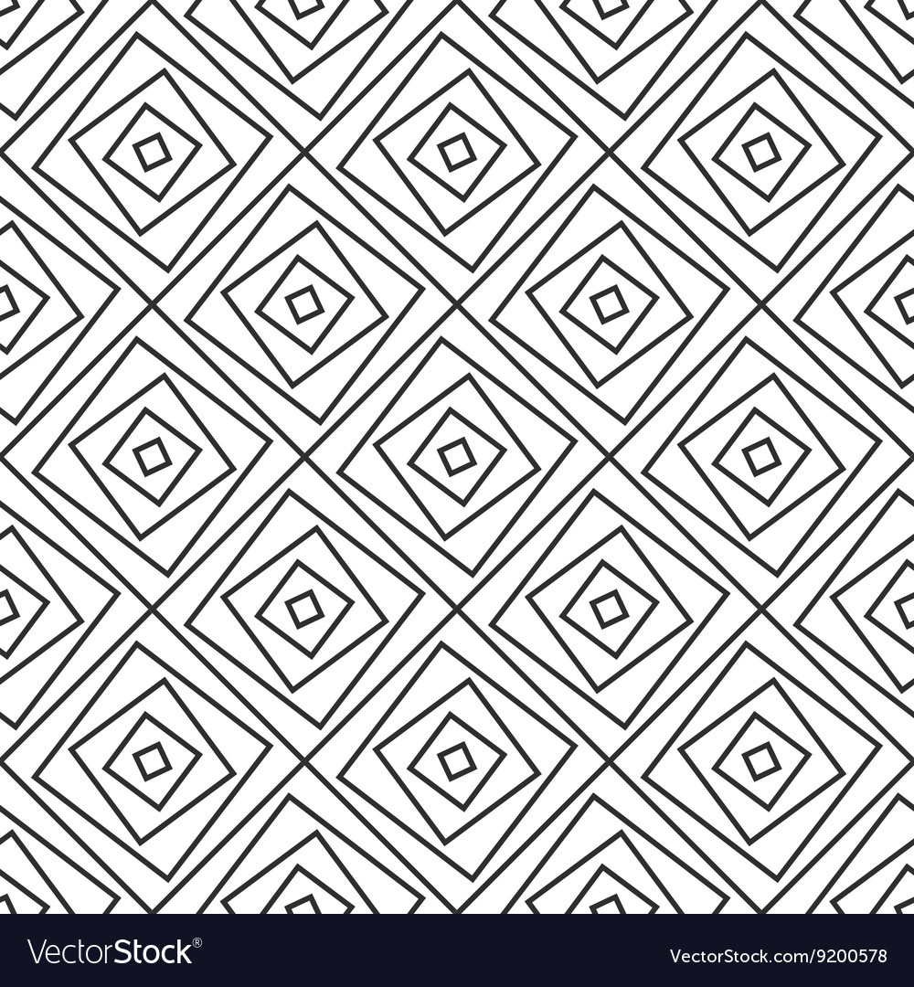 Seamlss pattern  simple geometric background vector