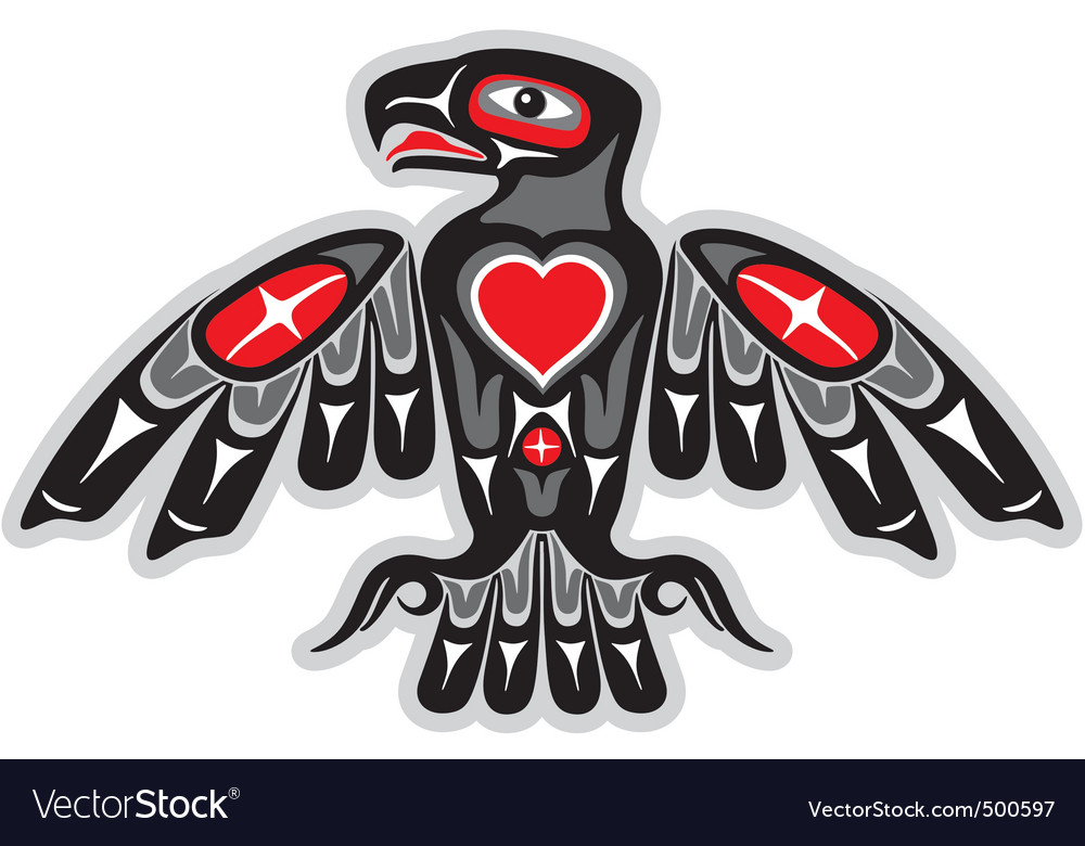 Indian eagle vector