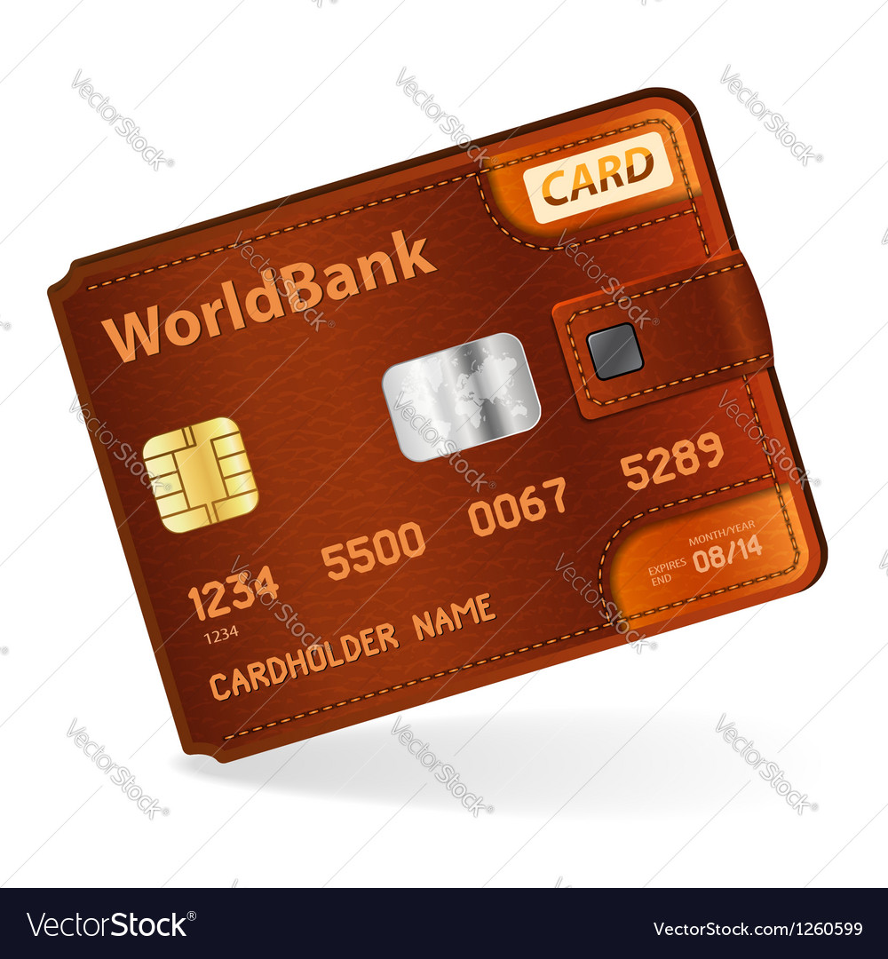 Credit card concept vector
