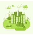Eco Town Concept vector image