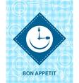 happy smiley clock vector image vector image