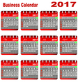 Calendar Event Personal Organizer Planning Term Ti vector image