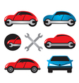 Car service icons vector image