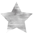 One Grunge Star vector image
