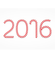 2016 Candy Canes vector image