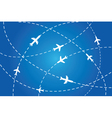 flight path poster vector image