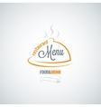 Food and drink restaurant menu background vector image