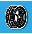 car tires design vector image