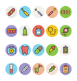 Dental Icons 1 vector image
