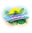 summer time background for posters and vector image