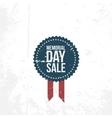 Memorial Day Sale circle Emblem vector image
