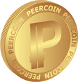 Peercoin vector image vector image