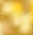 christmas gold background 1 vector image