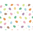 eggs colorful pattern vector image vector image