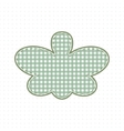 Butterfly fabric handcraft Cute Baby Style vector image