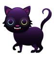 magic cat cute cartoon character vector image