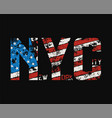new york city t-shirt and apparel design with vector image