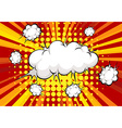 Cloud explosion vector image