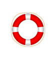 lifebuoy icon isolated on white background vector image
