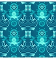 seamless pattern sea vector image