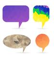 set of bubbles vector image